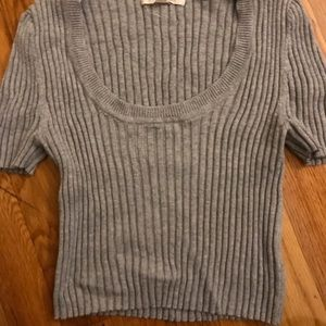 Hello Margot cropped sweater top